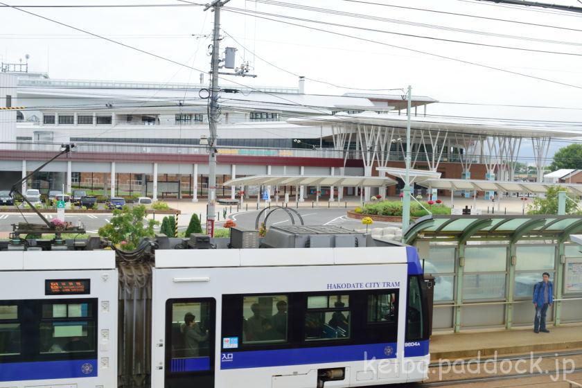 クレドホテル函館から函館競馬場