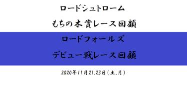 ロードシュトローム【もちの木賞】ロードフォールズ【デビュー】回顧(2020/11/21,23)